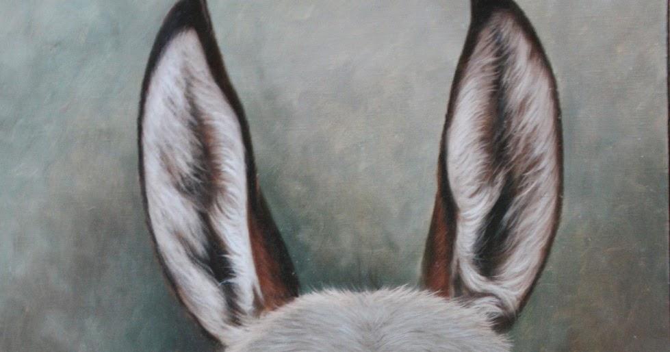 Resultado de imagen para un burro pintura